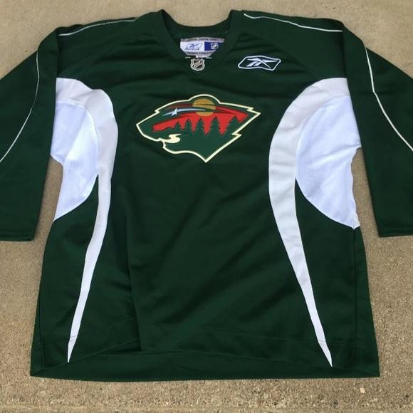 buy popular f0350 58e0f Reebok Minnesota Wild Hockey Jersey XL